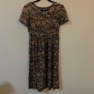 Vintage soft grunge babydoll dress